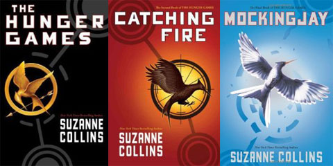 Hunger-Games-Trilogy, jacket covers