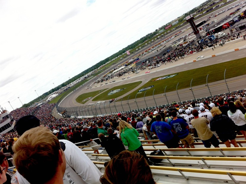 Pioneer Hi-Bred 250 NASCAR Nationwide Series race at Iowa Speedway