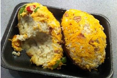 twice baked potatos