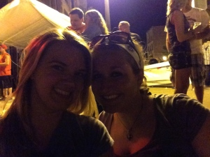 Kayla & I at Bike Night is Sioux City