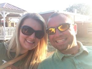 Chris & I at the Iowa State Fair 2013