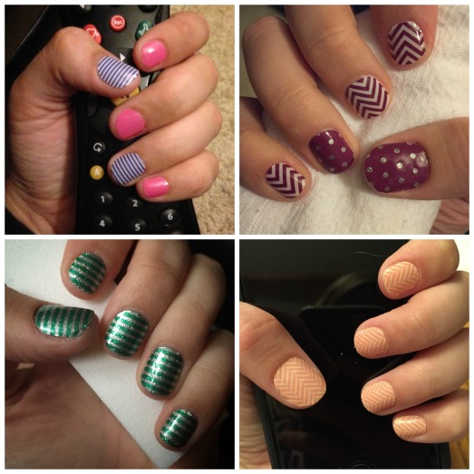 Jamberry Nails collage